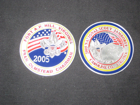 2005 National Jamboree Fran Olmstead Chairman Coin