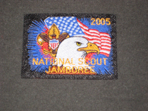 2005 National Jamboree 54 by 40 Woven Patch