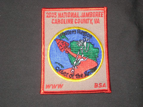 2005 National Jamboree Northeast Region OA Patch