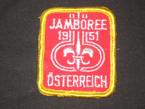 1951 World Jamboree Fake Patch