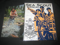 Sea Scout Manual, 2000 printing, with folder on Sea Scouts