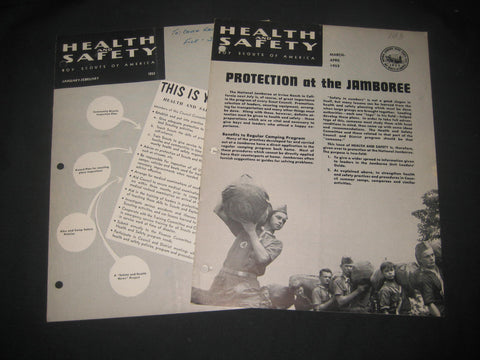 1953 National Jamboree Health & Safety Issue & 1-2/1953 issue