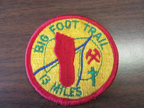Big Foot Trail 13 MIles Patch