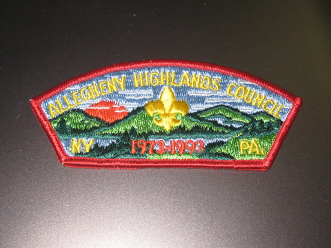 Allegheny Highlands Council sa5 SAP