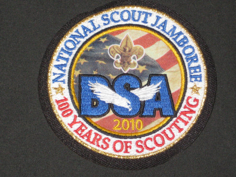 2010 National Jamboree 3 1/4 inch Pocket Patch