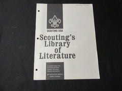 Scouting's Library of Literature Jan. 1982