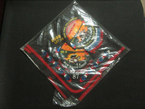 SR-5 2006 Dixie fellowship neckerchief and pocket patch