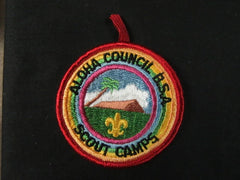 Aloha Council Scout Camps Pocket Patch