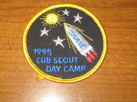 1995 Cub Scout Day Camp National Issue Pocket Patch