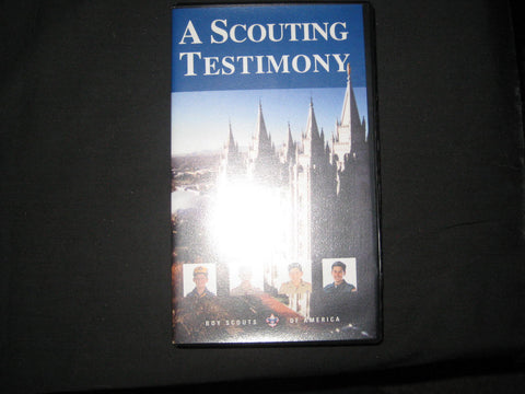 A Scouting Testimony, Using Scouting in the LDS Church VHS Tape
