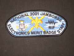 2001 National Jamboree Electronics Merit Badge Staff JSP - the carolina trader