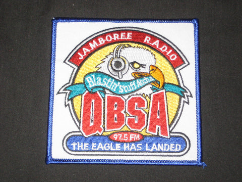 QBSA Jamboree Radio, The Eagle Has Landed Patch