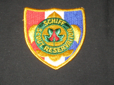 Schiff Scout Reservation Pocket Patch, New Jersey