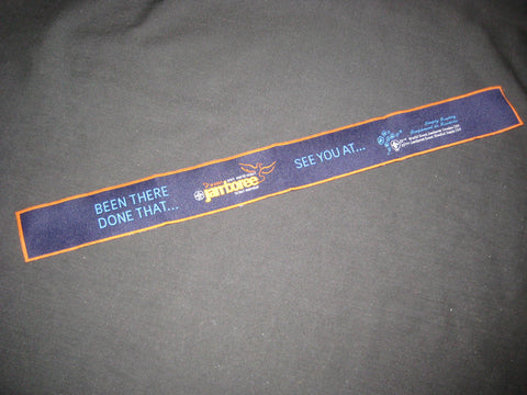 2007 World Jamboree Woven Strip or Book Mark