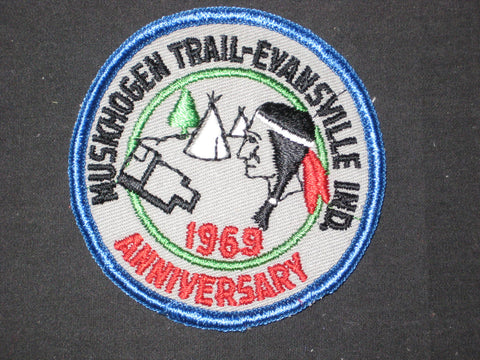 Muskhogen Trail 1969 Anniversary Pocket Patch