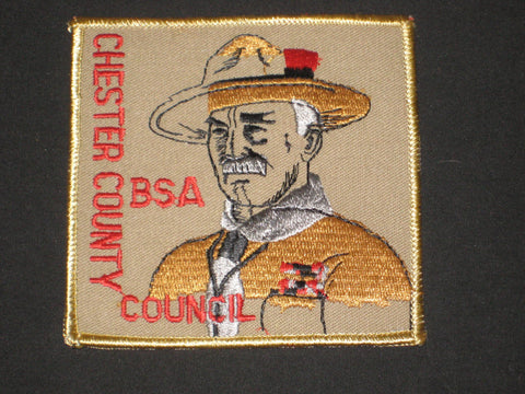 Chester County Council Baden-Powell Council Patch