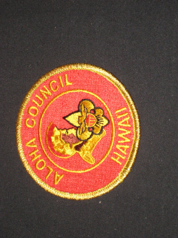 Aloha Council Hawaii Council Patch