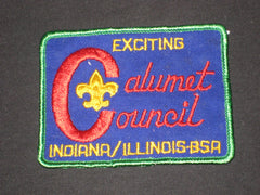 Calumet Council large C design Council Patch