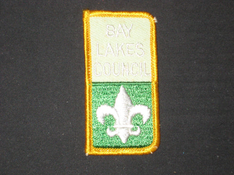 Bay Lakes Council small rectangle Council Patch