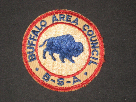 Buffalo Area Council cut edge Council Patch