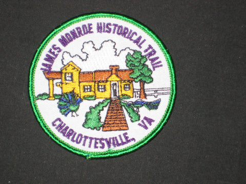 James Monroe Historical Trail Pocket Patch