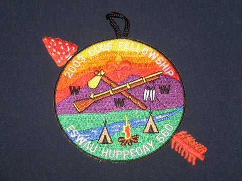 SR-5 2009 Dixie Fellowship Pocket Patch