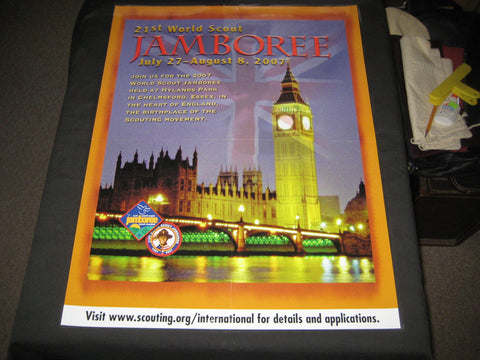 2007 World Jamboree BSA Recruiting Poster