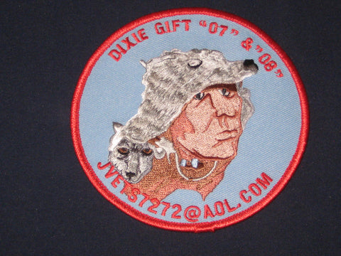 "Jvets7272@aol.com Dixie Gift ""07"" & ""08"" patch"