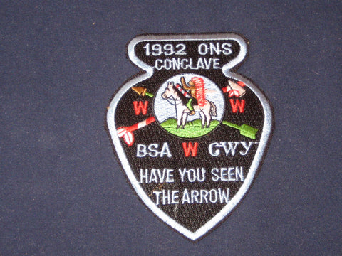 SE-7 1992 Old North State Conclave Pocket Patch