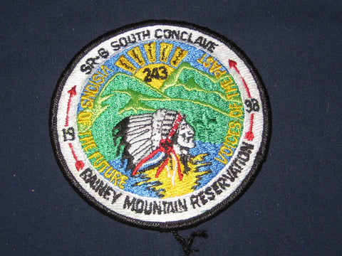 SR-6 1998 Conclave patch