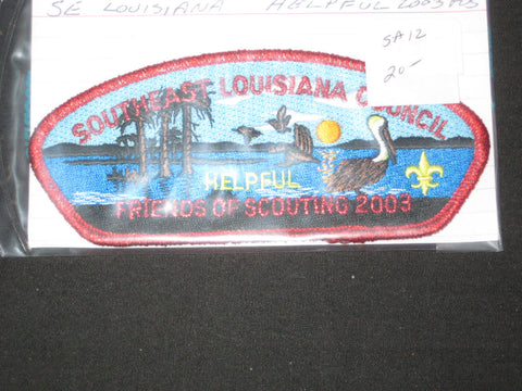 Southeast Louisiana sa12 CSP