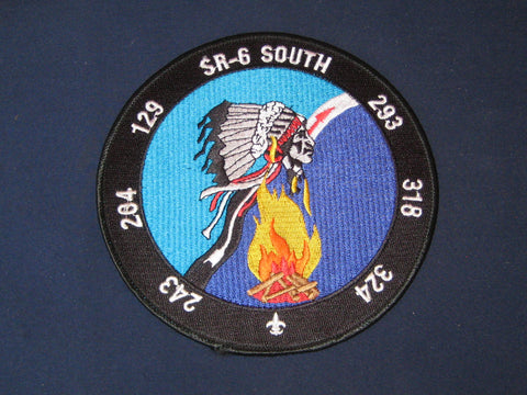 SR-6 South jacket patch
