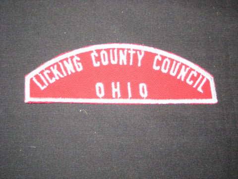 Licking County Council Ohio R&WS Strip