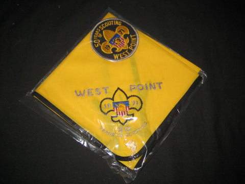 West Point 1971 Camporee Neckerchief and Pocket Patch