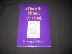 A Prince Hall Masonic Quiz Book  - the carolina trader