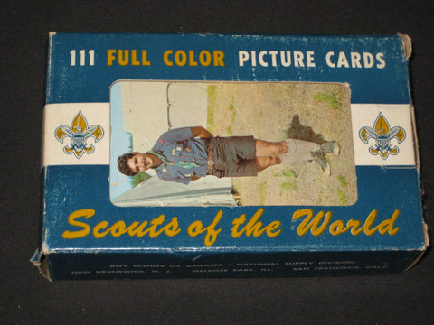 Scouts of the World, 111 Full Color Picture Cards
