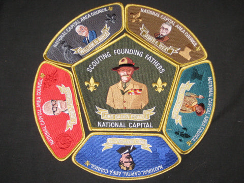 National Capital Area Council Scouting Founding Fathers CSP Set