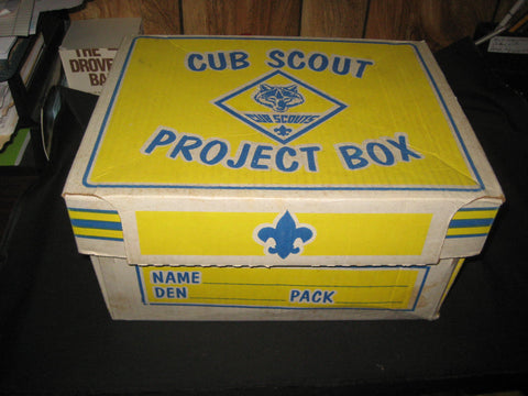 Cub Scout Project Box