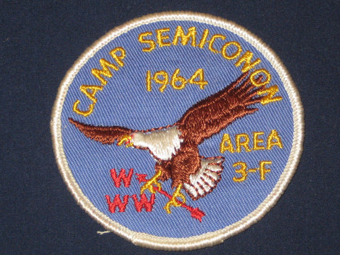 Area 3-F 1964 Section patch