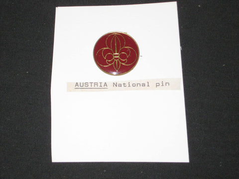 Austria Boy Scout National Pin