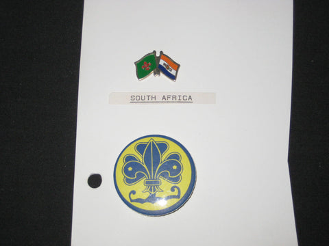 South Africa, Boy Scout Pin and Button