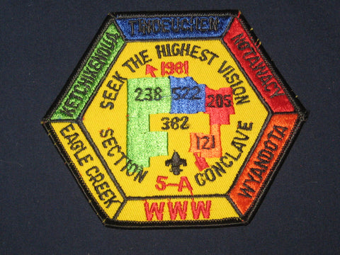 5-A 1981 Section patch