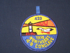 4-B 1974 Conclave patch-the carolina trader