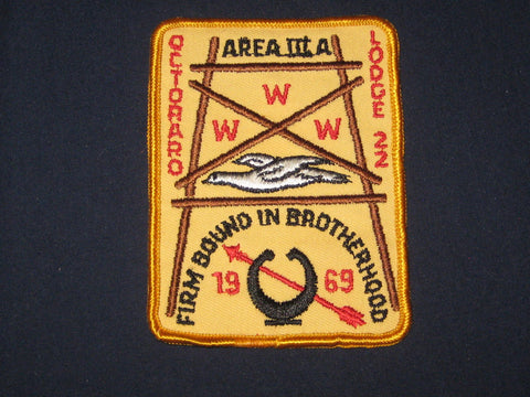 3A 1969 Section patch