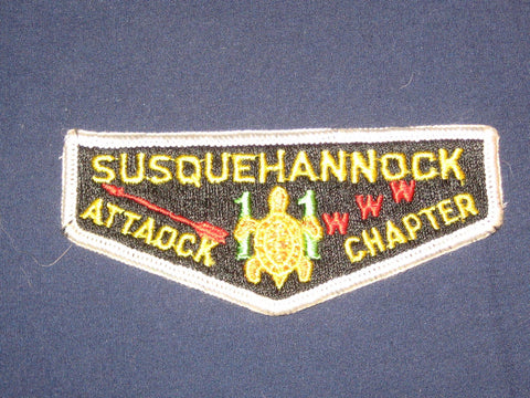 Susquehannock 11 S1 Attaock Chapter flap