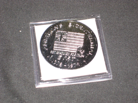 Gift BSA US Bicentennial Chrome plated Coin