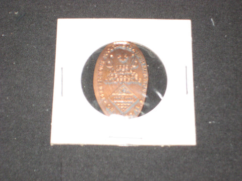 1989 National All Hands Conference Elongated Cent