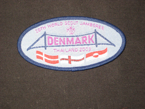 2003 World Jamboree Denmark Contingent Patch