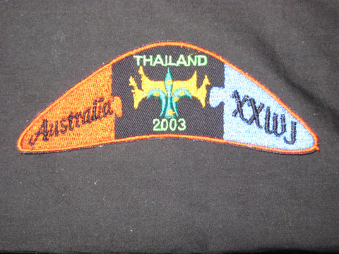 2003 World Jamboree Australia Contingent Patch