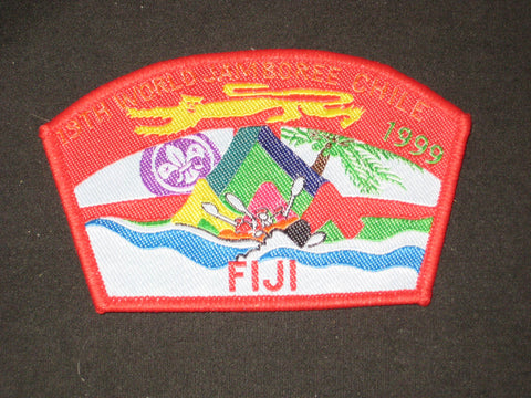 1999 World Jamboree Fiji Patch